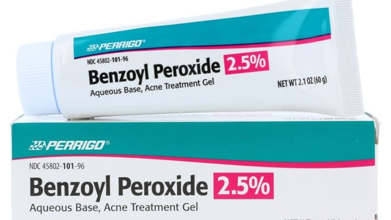 Over The Counter Benzoyl Peroxide Acne Treatment Skin Care