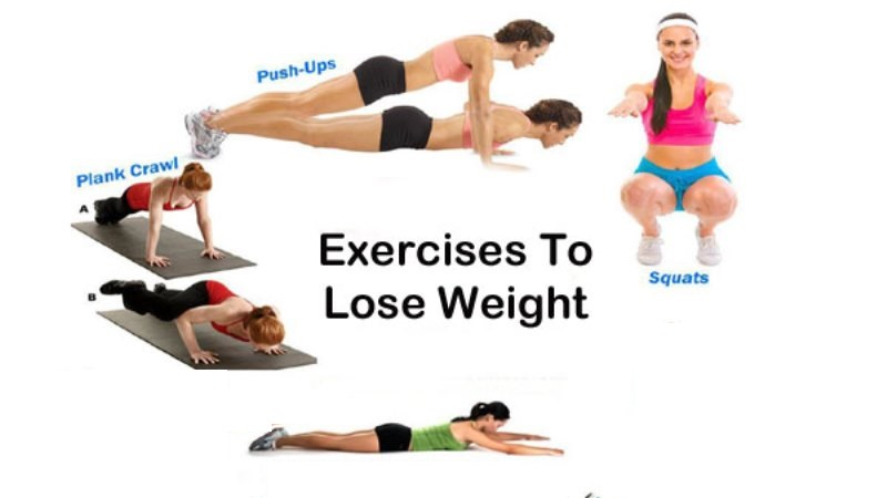 The 4 Best Exercises to Lose Weight